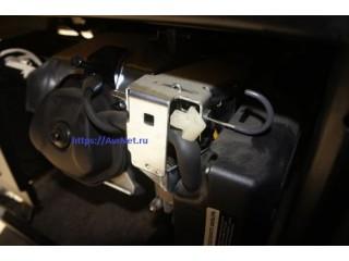 для адаптации привода заслонки генератора удаляем пластиковый то