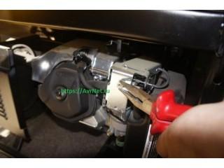 автоматизация управления приводом заслонки бензогенератора тип К