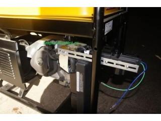 Устанавливаем электропривод заслонки генератора