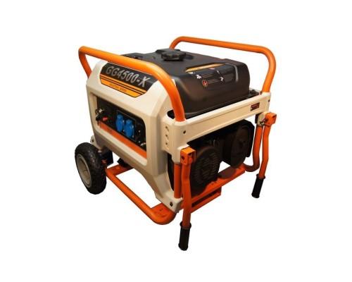 Газовый генератор 3.6 кВт REG E3 POWER GG4500-X с автозапуском + АВР