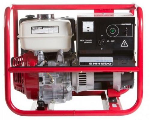 Газовый генератор 3 кВт REG SH4500 с автозапуском + АВР