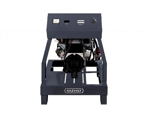 Газовый генератор 4.5 кВт Gazvolt Pro 5000 B 07 с автозапуском + АВР