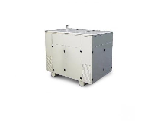 Газовый генератор 4.5 кВт Gazvolt Pro 5000 B 07 в контейнере с автозапуском + АВР