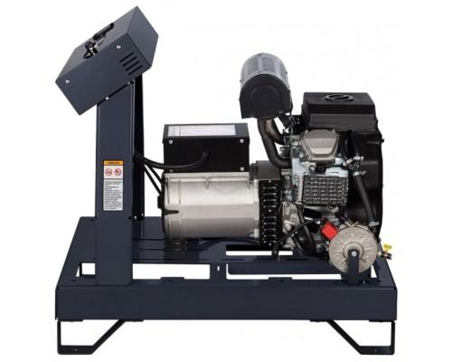 Газовый генератор 4.5 кВт Gazvolt Pro 5000 TB 07 с автозапуском + АВР