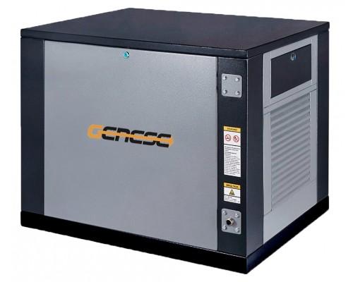 Газовый генератор 4.5 кВт Genese Standard 5000 Neva в кожухе с автозапуском + АВР