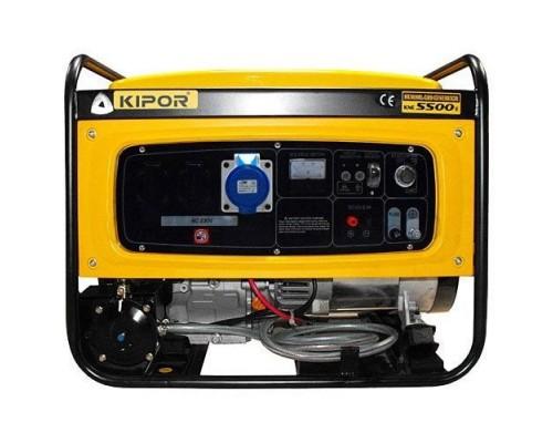 Газовый генератор 4.5 кВт Kipor KNE5500E с автозапуском + АВР