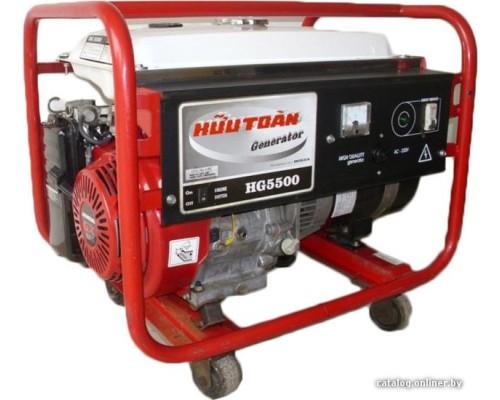 Газовый генератор 4 кВт REG HG5500(SE) с автозапуском + АВР