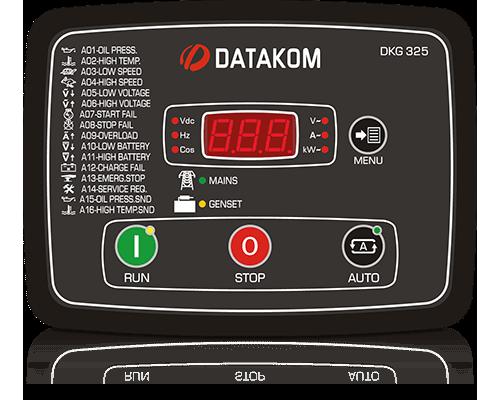 DKG-325 Автозапуск генератора со встроенными контакторами и зу NEW!