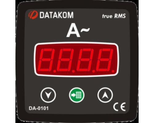 Амперметр 1-фазный 72х72 Datakom DA-0101