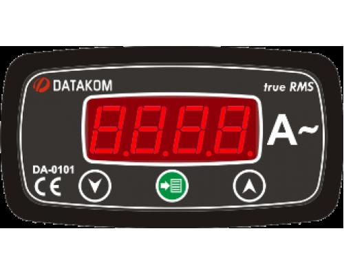 Амперметр 1-фазный 96х48 Datakom DA-0101