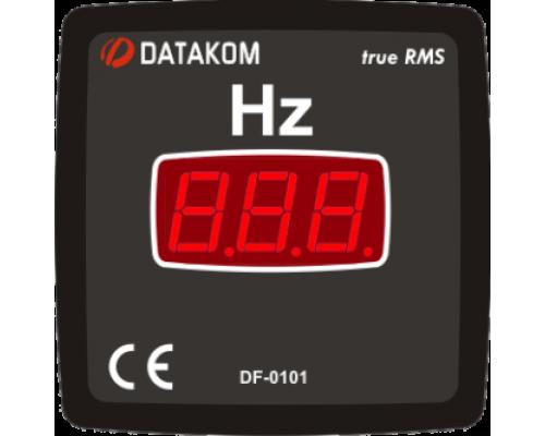 Частотомер 1-фазный 72х72 Datakom DF-0101