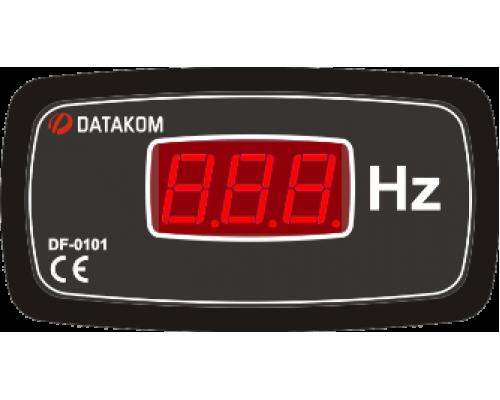 Частотомер 1-фазный 96х48 Datakom DF-0101