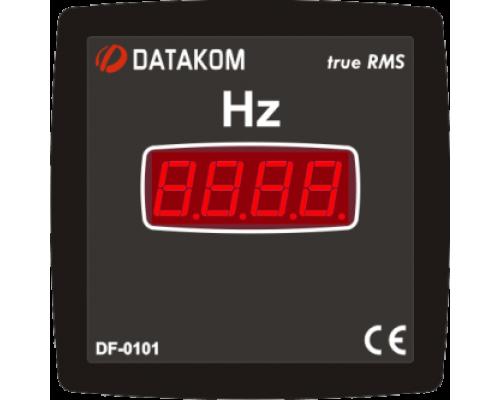 Частотомер 1-фазный 96х96 Datakom DF-0101