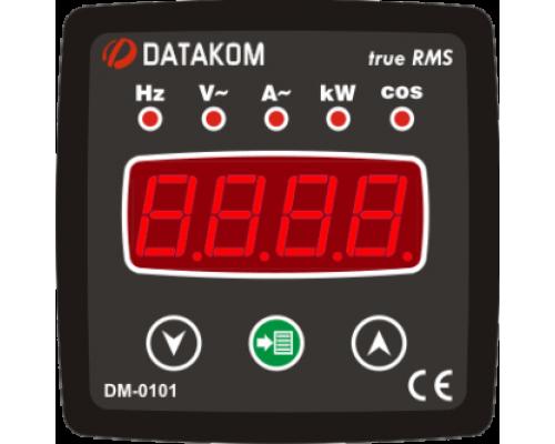 Мультиметр 1-фазный 72х72 Datakom DM-0101