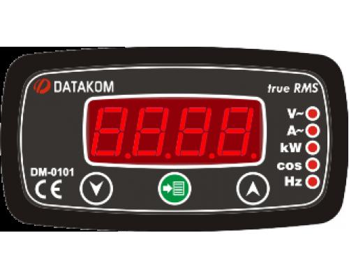 Мультиметр 1-фазный 96х48 Datakom DM-0101