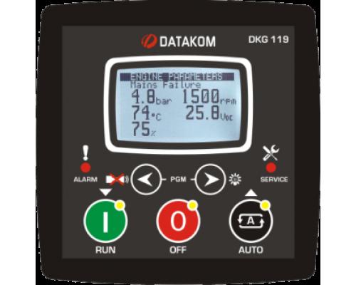 DKG-119 Модуль ручного и дистанционного запуска генератора CAN/MPU