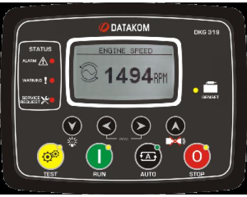 DKG-319 Модуль ручного и дистанционного запуска генератора CAN/MPU