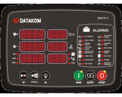 DKG-517 Модуль ручного и дистанционного запуска генератора CAN/MPU