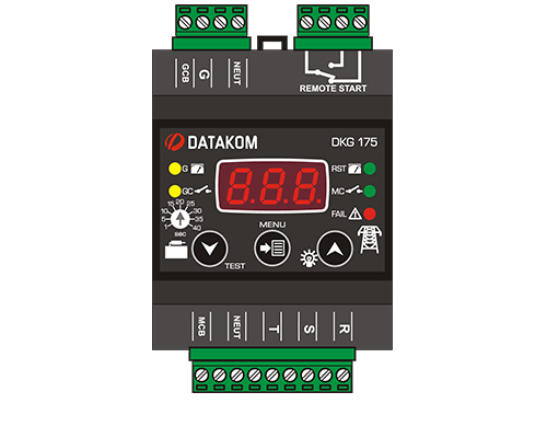 DKG-175 Модуль автоматического ввода резерва-АВР. НОВИНКА