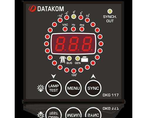 Datakom DKG-117 Синхроскоп и реле включения синхронизации