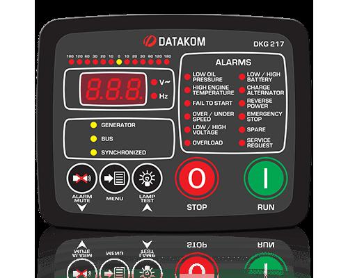 Datakom DKG-217 Модуль ручного и удаленного запуска с синхронизацией