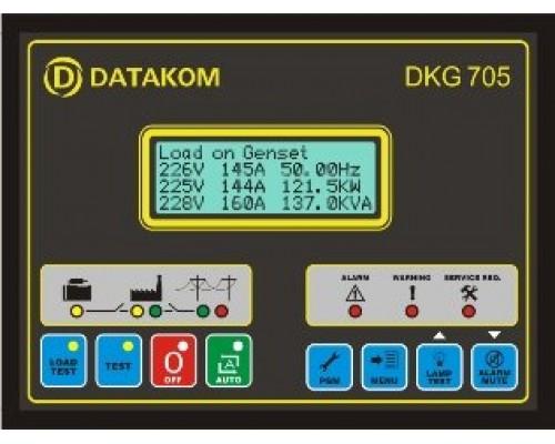 Datakom DKG-705 Модуль синхронизации генератора с сетью