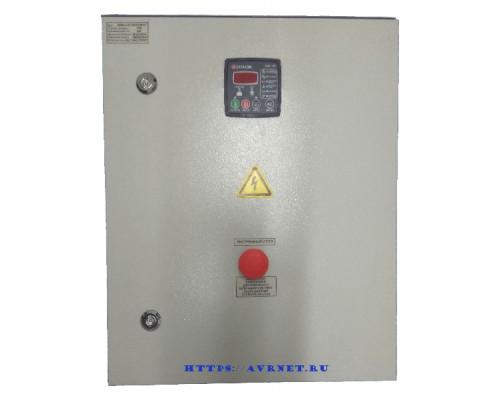 Щит автозапуска генератора ЩАГ-3-3-10 ток 10А на контроллере Datakom DKG-105 контакторы Россия-Китай