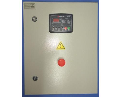 Щит автозапуска генератора ЩАГ-3-3-10 ток 10А на контроллере Datakom DKG-207 контакторы Россия-Китай